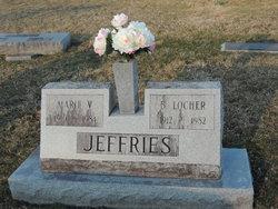 Marie Virginia <I>Goldsmith</I> Jeffries