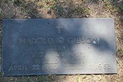 Harold Osburn Gibson