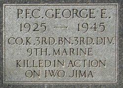 PFC George E. Graham