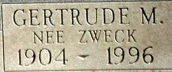 Gertrude <I>Zweck</I> Welsch