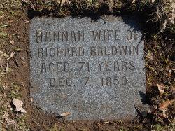 Hannah <I>Baldwin</I> Baldwin