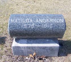 Hannah Matilda <I>Peterson</I> Anderson