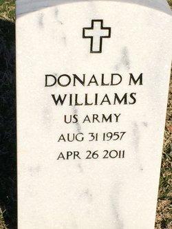 Donald M Williams