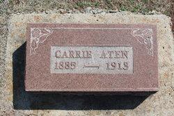 Carrie M. <I>Grant</I> Aten