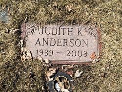 Judith K. <I>Schultz</I> Anderson