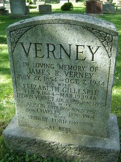 Elizabeth <I>Gillespie</I> Verney