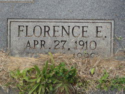 Florence E. <I>Mathis</I> Warren