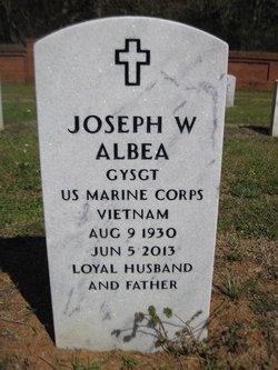 """Joseph W """"Joe"""" Albea"""