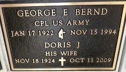 George E Bernd