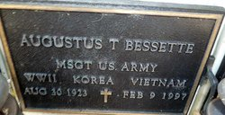 Augustus T Bessette