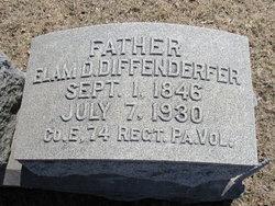 Elam D Diffenderfer