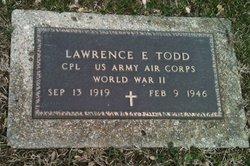 Lawrence E Todd
