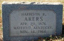 """Harrison Rufus """"Harry"""" Akers"""
