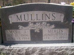 Maxie June <I>Cole</I> Mullins
