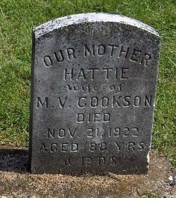 "Henrietta ""Hattie"" <I>Comfort</I> Cookson"