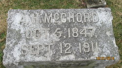 Alfred Hynes McChord, Sr