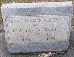 Judge Edgar Thomas Albritton