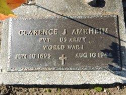Clarence Joseph Amrhein