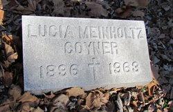 Lucia <I>Meinholtz</I> Coyner