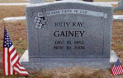 Billy Ray Gainey
