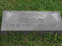 Mildred Elizabeth <I>Crumlich</I> Zeigler