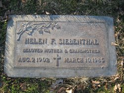 Helen Frances <I>Early</I> Siebenthal