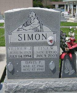 Lena <I>Wilson</I> Simon