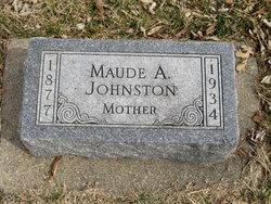 Maude A. Johnston