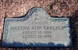 Martha Ann Carlyle