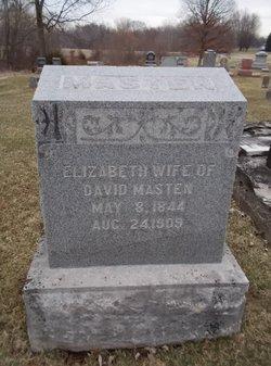 Elizabeth <I>Appleby</I> Masten