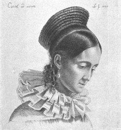 "Charlotte Amalie ""Lotte"" <I>Grimm</I> Hassenpflug"