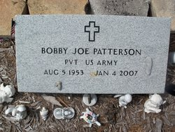 PVT Bobby Joe Patterson