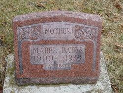 Mabel <I>Hall</I> Bates