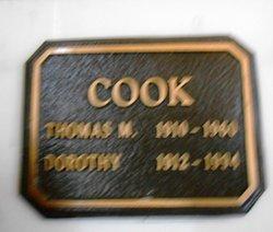 Dorothy L. <I>Dixon</I> Cook