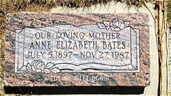 Anne Elizabeth Bates