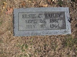 Elsie Louise <I>Carter</I> Bailey