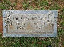 Alpha Louise <I>Caudle</I> Bolt