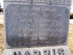 Annie O <I>Goodrich</I> Harris