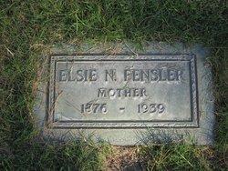 Elsie Nevada <I>Clifton</I> Fensler
