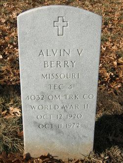 Alvin V Berry