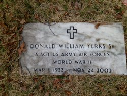 Sgt Donald William Yerks, Sr