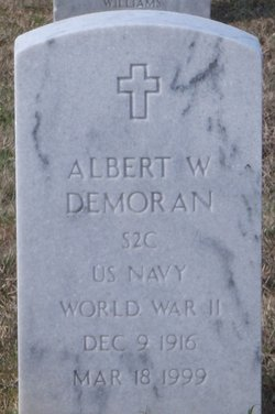 SN Albert W Demoran