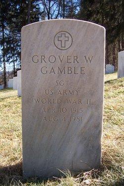 Grover W Gamble