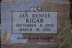 Jan Denise <I>Kigar</I> Hill