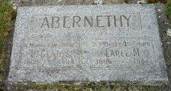 Laura Gladys <I>Hardman</I> Abernethy