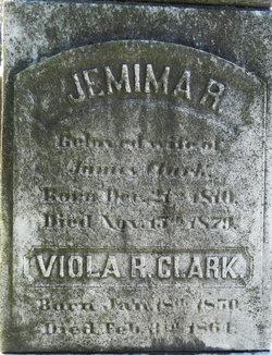 Jemima Rootsey <I>Ward</I> Clark