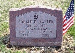 CDR Ronald D. Kahler