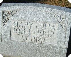 Mary Julia <I>Leigh</I> Clark