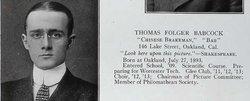 Thomas Frances Babcock