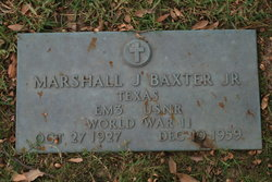Marshall J Baxter, Jr